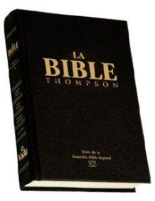 Bible Thompson Nouvelle Bible Segond onglets 961