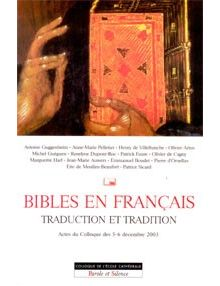 Bibles en français traduction et tradition