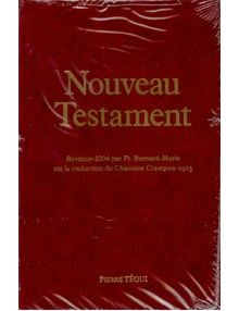 Nouveau Testament Crampon