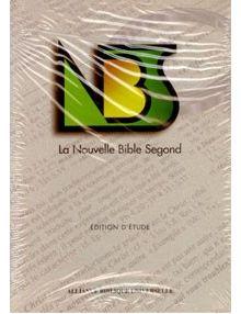 Nouvelle Bible Segond ref 1069 (Cuir bordeaux)
