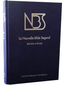 Nouvelle Bible Segond ref 1070 (bleu rigide)