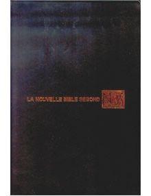 Nouvelle Bible Segond Ref 1075 (Bleue)