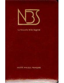 Nouvelle Bible Segond ref. 1077 (Grenat)