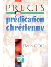 Précis de prédication chrétienne