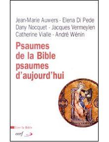 Psaumes de la Bible psaumes d'aujourd'hui