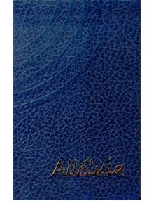 Recueil Alléluia petit format (Bleu)