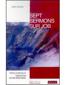 Sept sermons sur Job