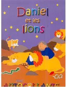 Daniel et les lions - avec autocollants