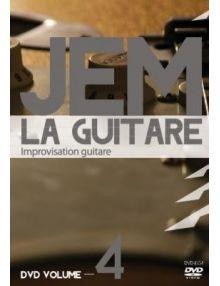 DVD JEM La guitare vol. 4 Improvisation guitare